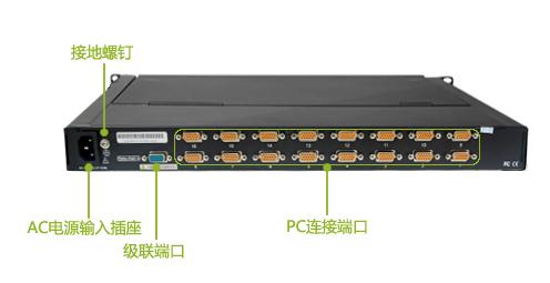 19寸机柜尺寸_热卖19寸16口LCD KVM 型号:KVM-1916AU 品牌:锐盾(Reton)